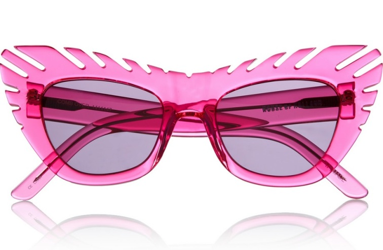 HOUSE OF HOLLAND Combover cat eye acetate sunglasses
