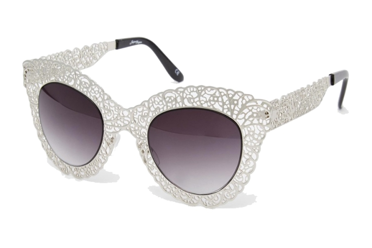 ASOS Jeepers Peepers Filigree Cateye Sunglasses