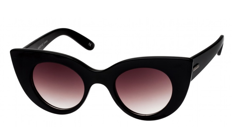 MINKPINK NIGHT CAT SUNGLASSES BLACK
