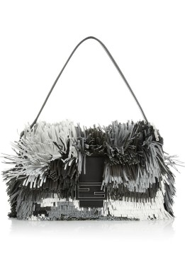 Fendi Fringe Baguette Bag